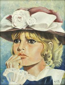 Brigitte Bardot, 1965, Olieverf