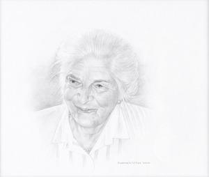 Moeder, 2000, potlood