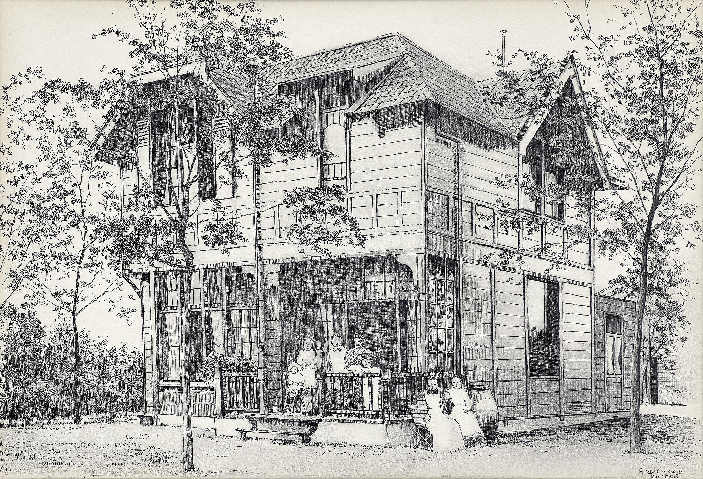 Ouderlijk huis mari tte aan de noodweg hilversum 1978 for Huis hilversum