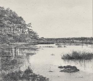 Vennetje, 1977, pentekening